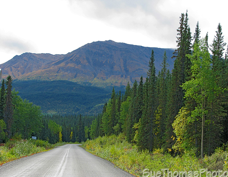 Cassiar Highway north of Kinskan Lake