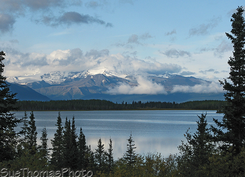 Morchuea Lake on the Cassiar Highway, BC