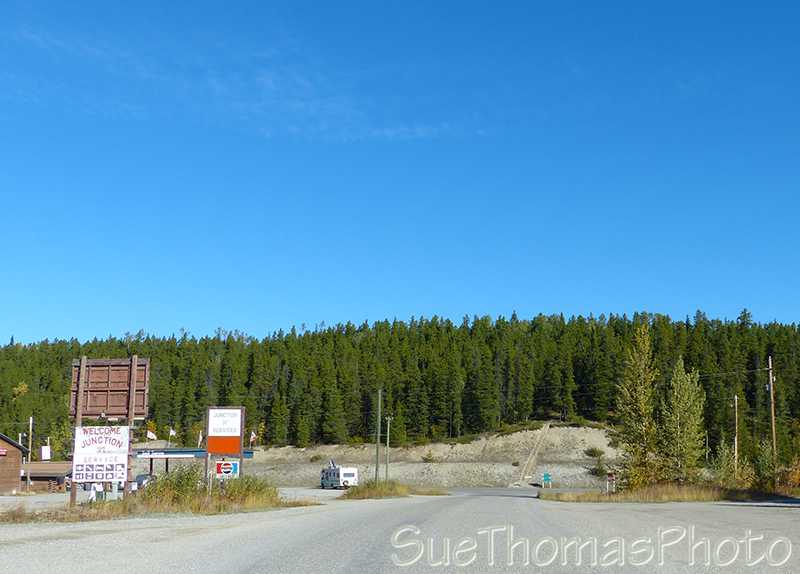 Junction 37 on the Alaska Hwy