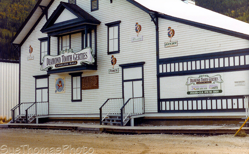 Diamond Tooth Gerties in Dawson City, Yukon