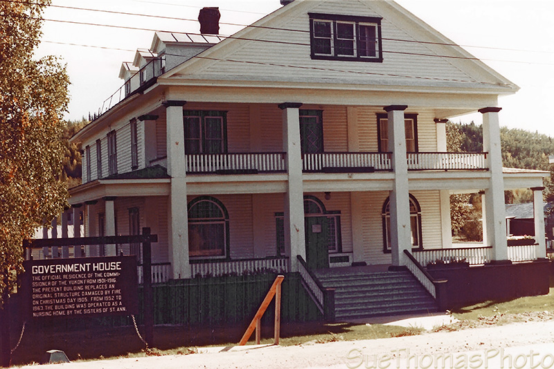 Dawson City Government House, Yukon