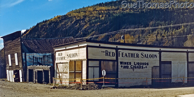 Red Feather Saloon, Dawson City 1986