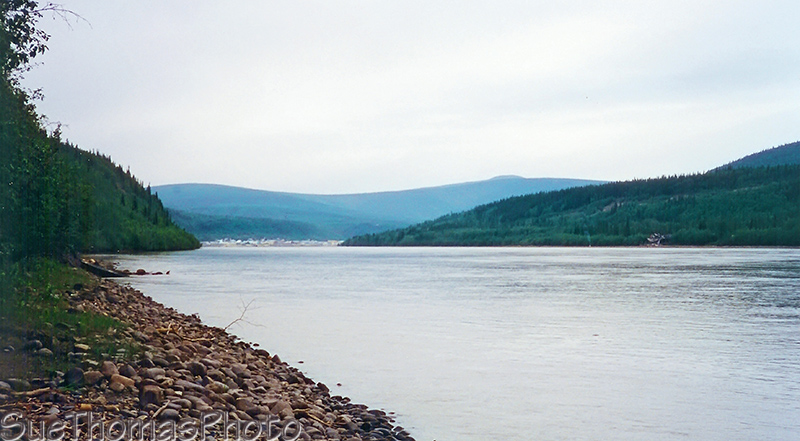 Moosehide, Yukon River, near Dawson City