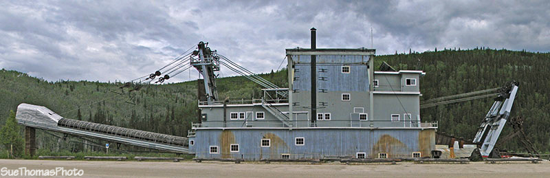 Dredge No. 4, Dawson City, Yukon