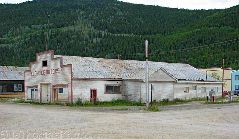 Klondike Motors, Dawson City, Yukon