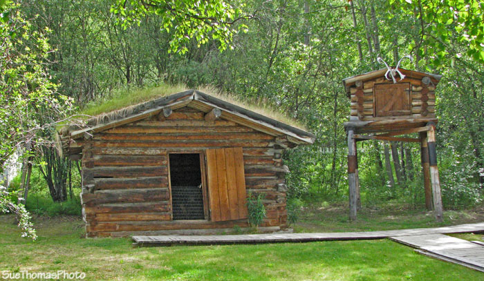 Jack London cabin, Dawson City, Yukon