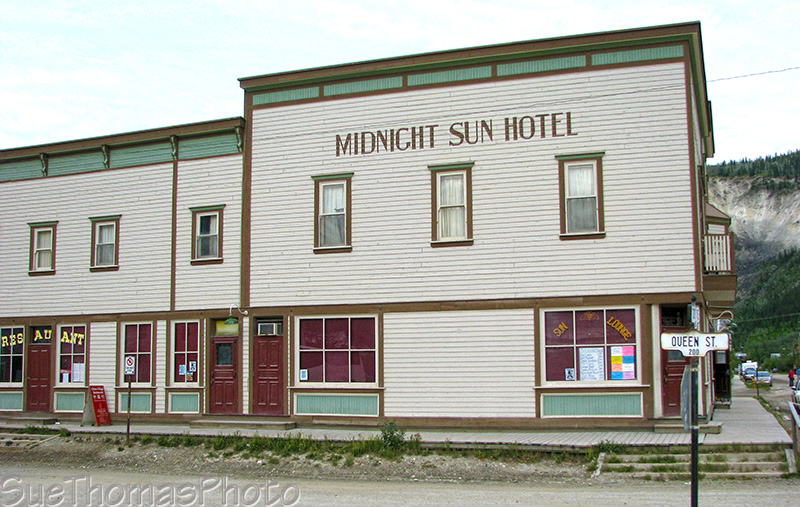 Midnight Sun Hotel, Dawson City
