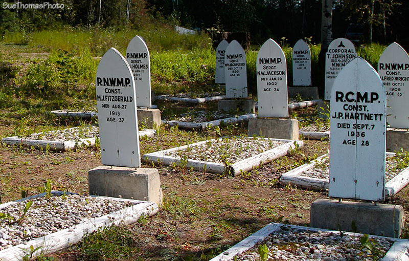 Cemetery at Dawson City
