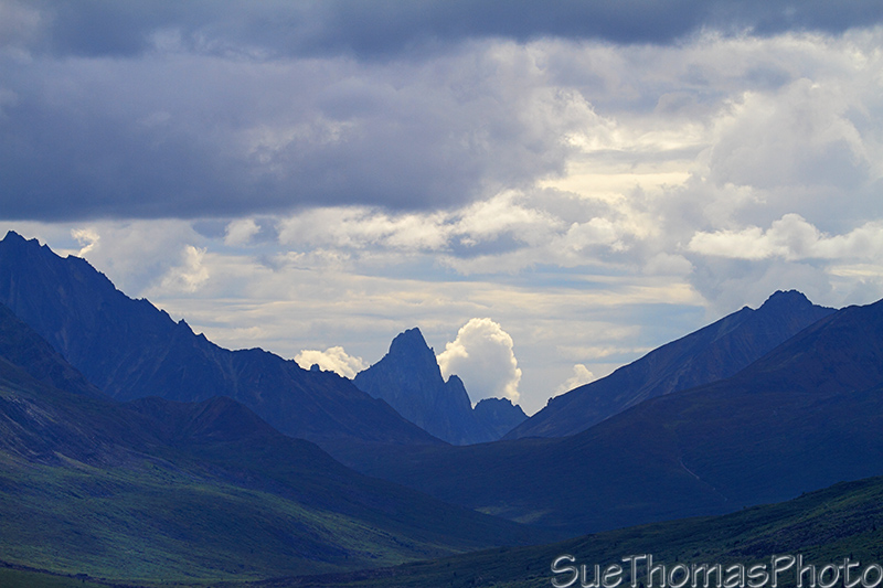 Tombstone Mountain on the Dempster Highway, Yukon