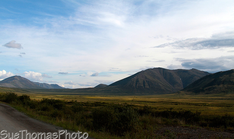 Looking south towards the heart of Tombstone Park in Yukon