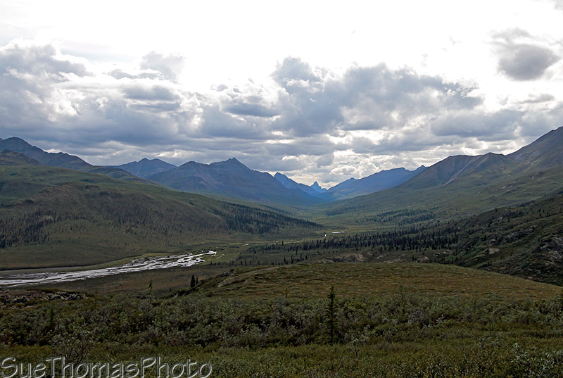 Tombstone Mountain on the Dempster Highway in Yukon