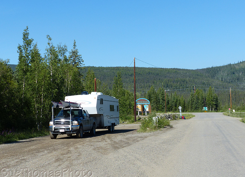 Start of the Dempster Highway