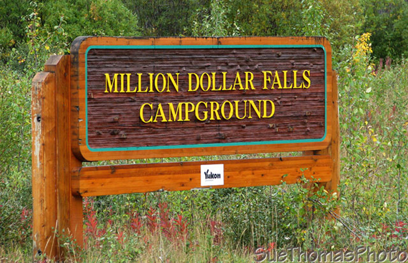 Million Dollar Falls government campground