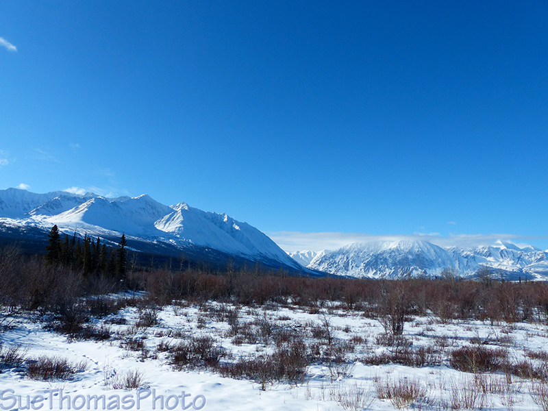 Kluane Ranges west of Haines Junction along the Haines Road