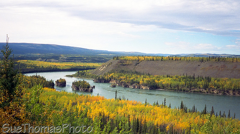 Five Finger Rapids, Klondike Highway, Yukon