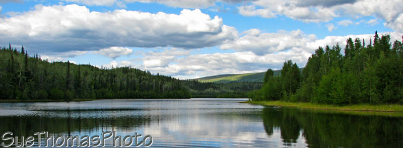 Five Mile Lake, near Mayo, Yukon
