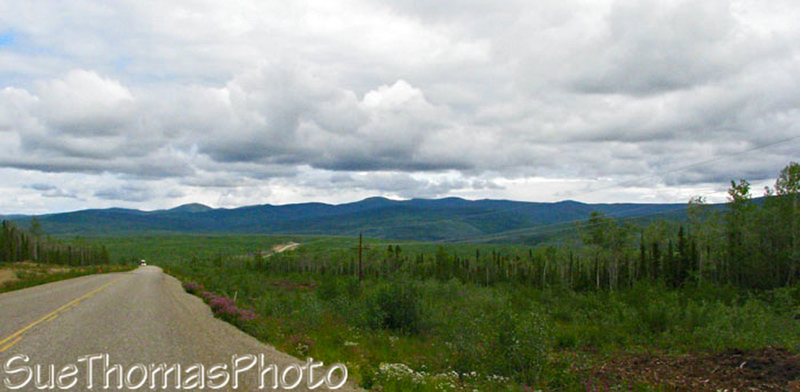 North Klondike Hwy in Yukon