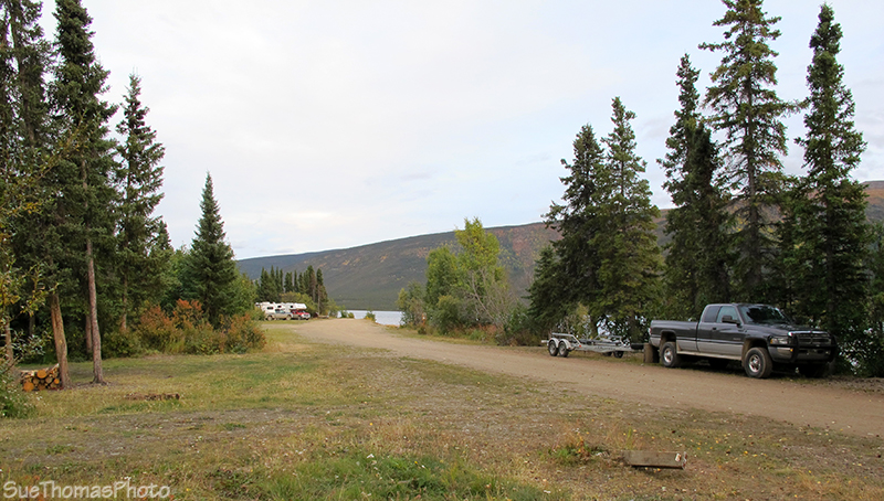 Ethel Lake Campground in Yukon