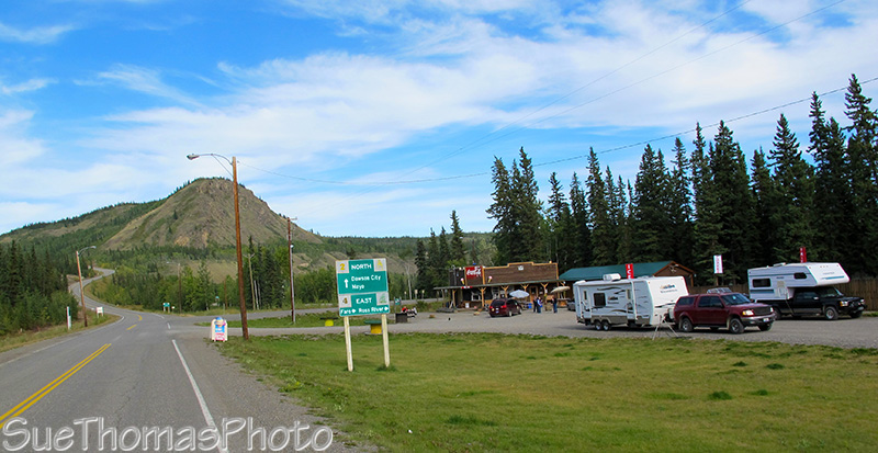 Campbell Highway junction