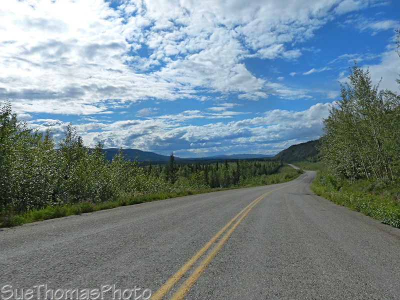 North Klondike Highway scenery
