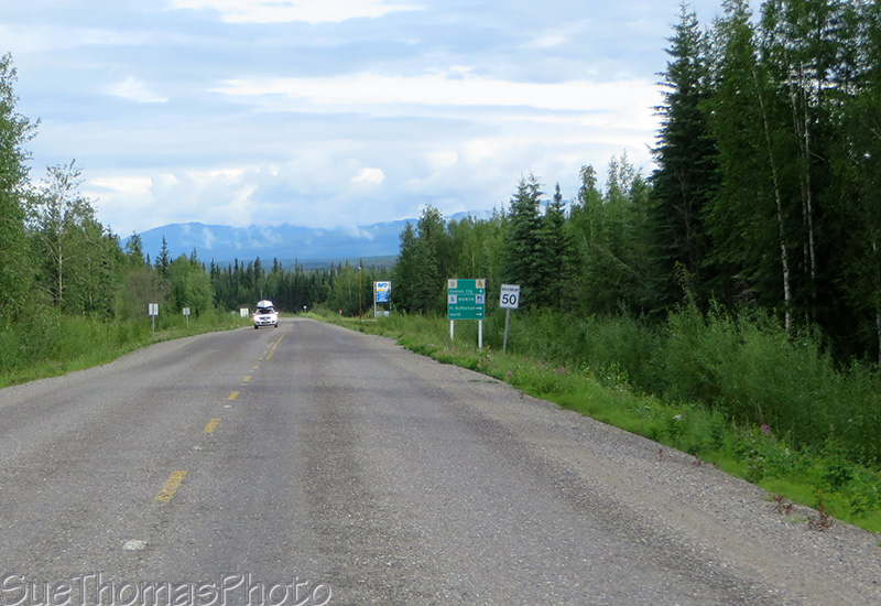 Approaching the Dempster Highway