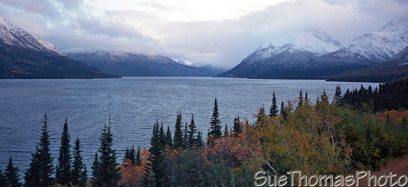 Tagish Lake on the South Klondike Highway, Yukon