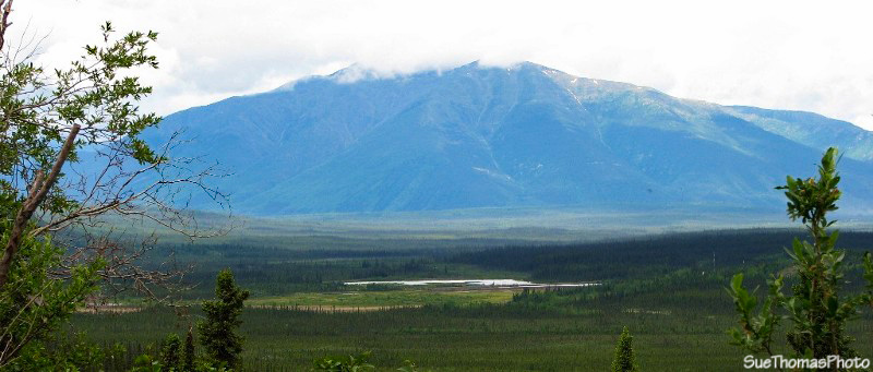 McQuestern River Valley near Keno, Yukon