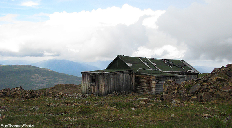 Cabin on Keno Hill, Yukon