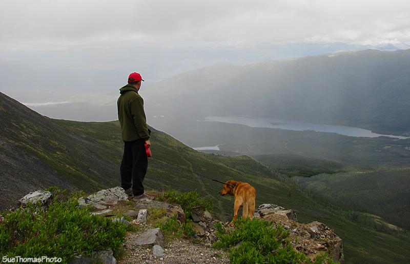 View from Keno Hill, Yukon