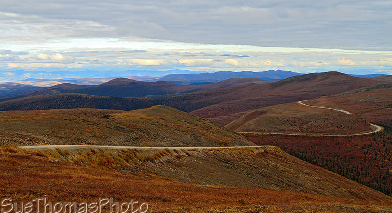 Top of the World Highway, Yukon