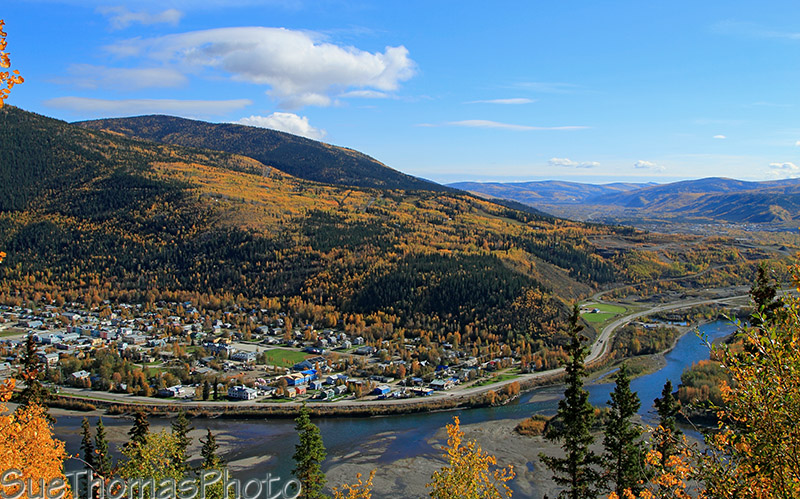 Top of the World Highway in Yukon
