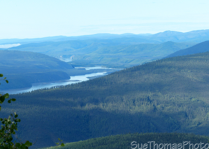 Yukon River viewpoint