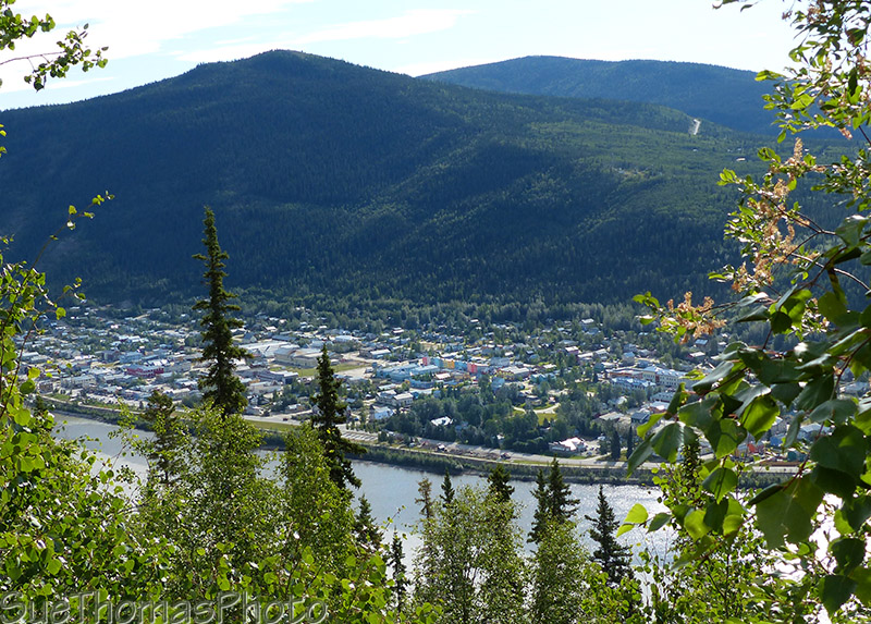 Dawson City viewpoint