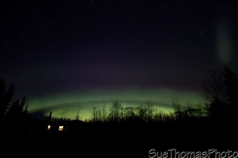More aurora over Yukon