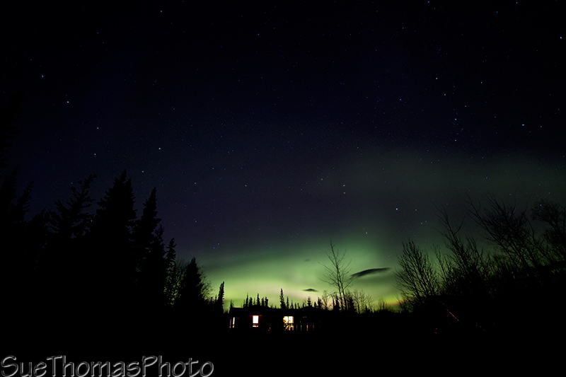 Last one of the aurora